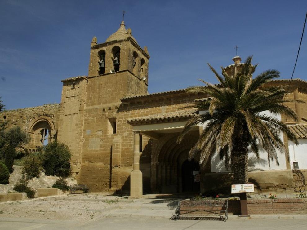 La iglesia de Santa María en El Tormillo está clausura atendiendo al informe del arquitecto municipal