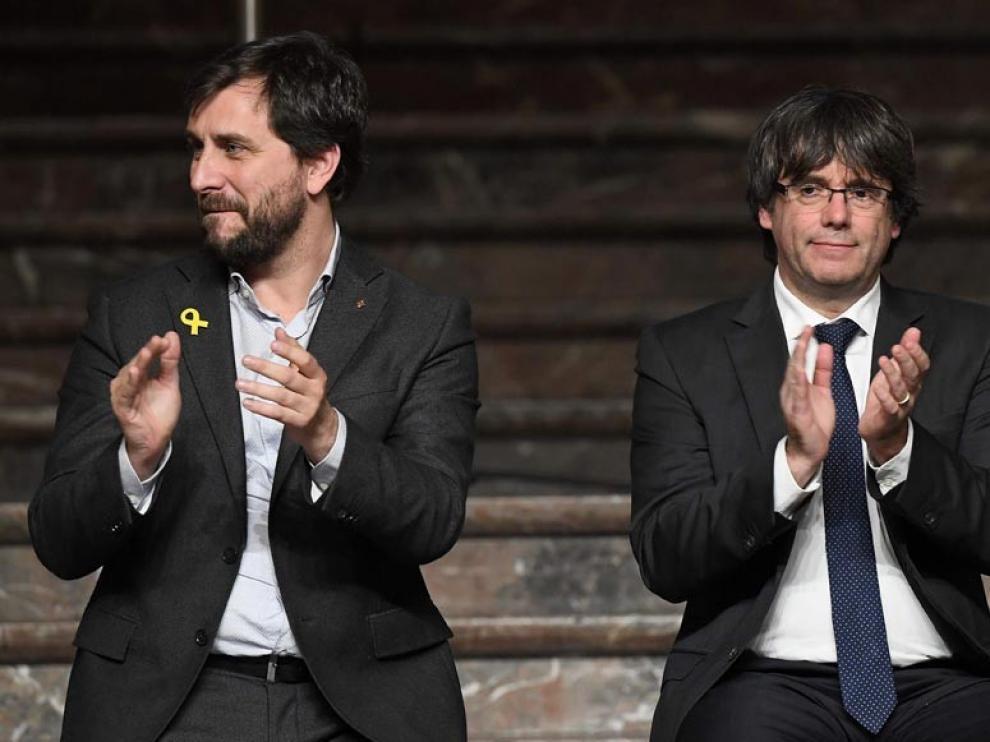 Puigdemont y Comín quedan fuera del Europarlamento