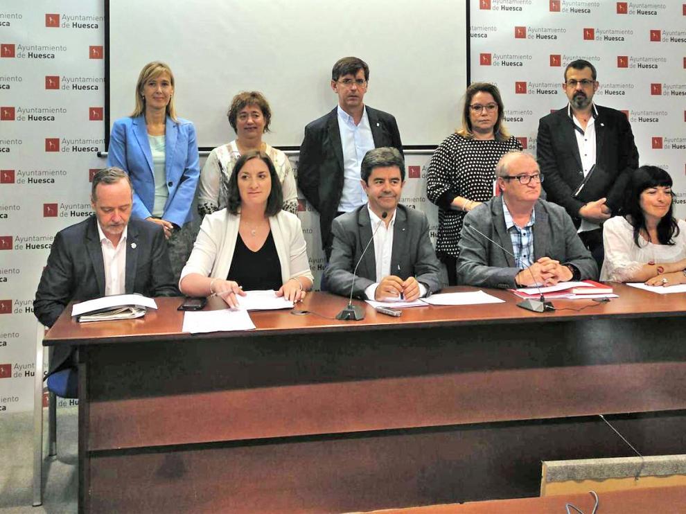 El Ayuntamiento de Huesca nombra a los responsables de las concejalías