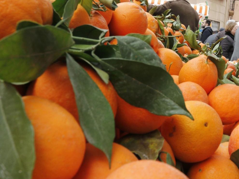 La naranja fue la fruta fresca más consumida el año pasado
