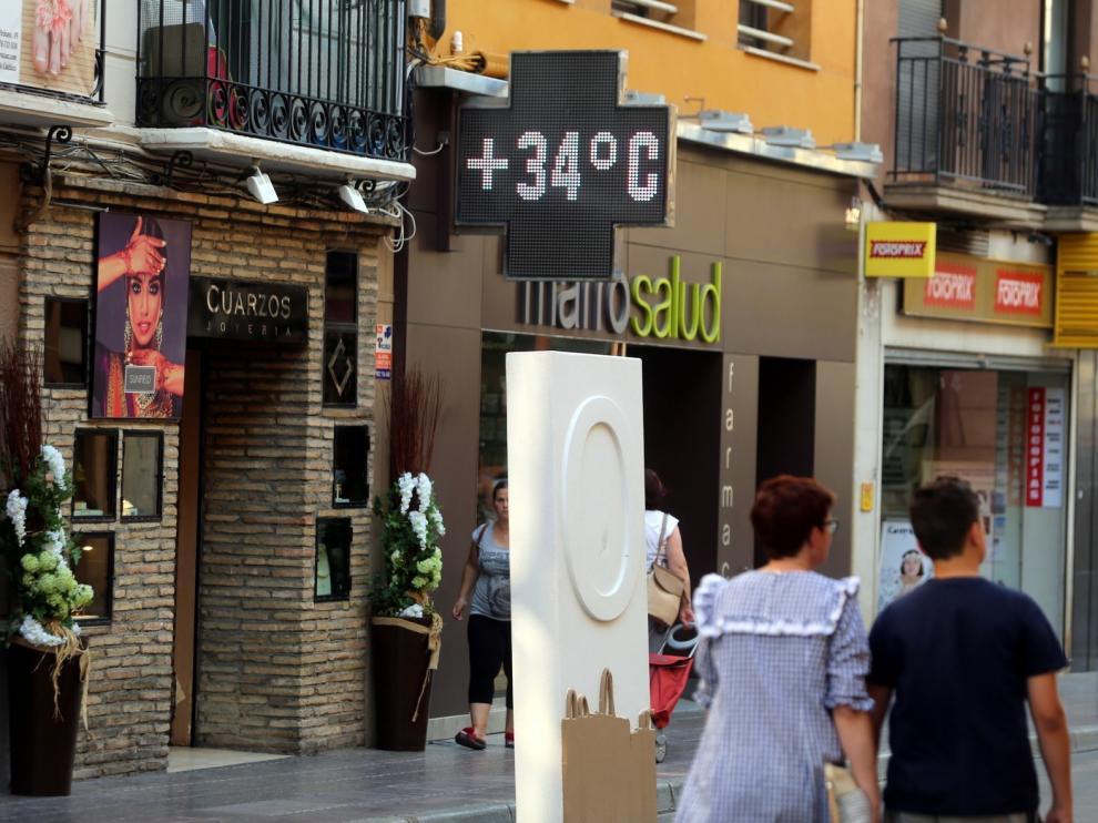 Huesca, en riesgo por altas temperaturas que pueden alcanzar los 38 grados