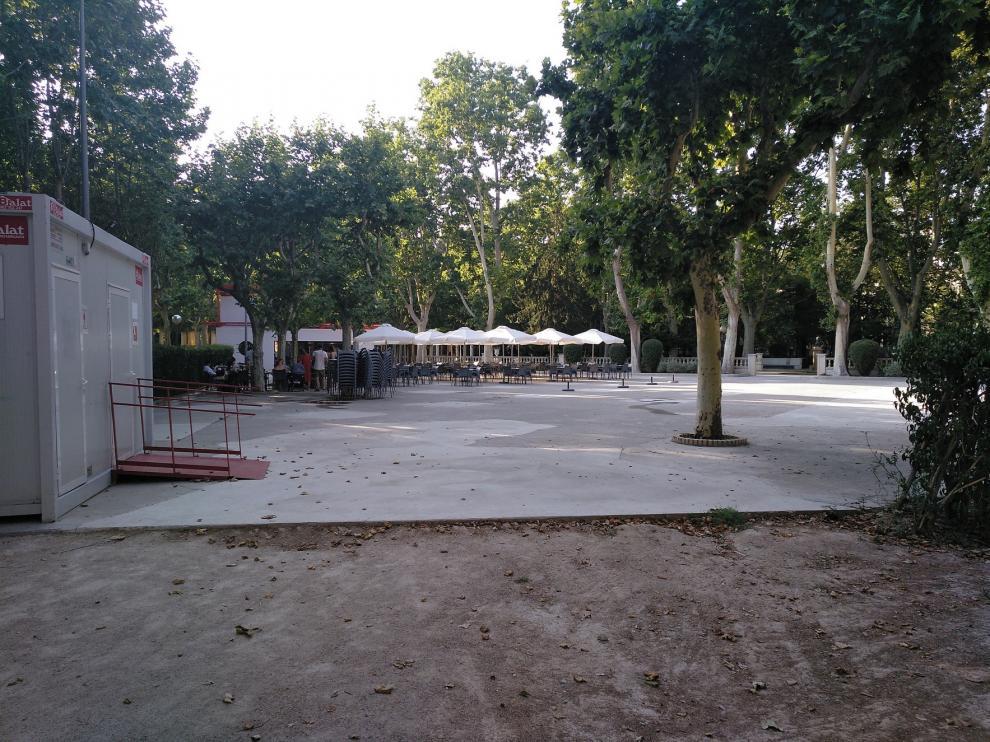 La reurbanización de la terraza del Parque Bar de Huersca sale a licitación