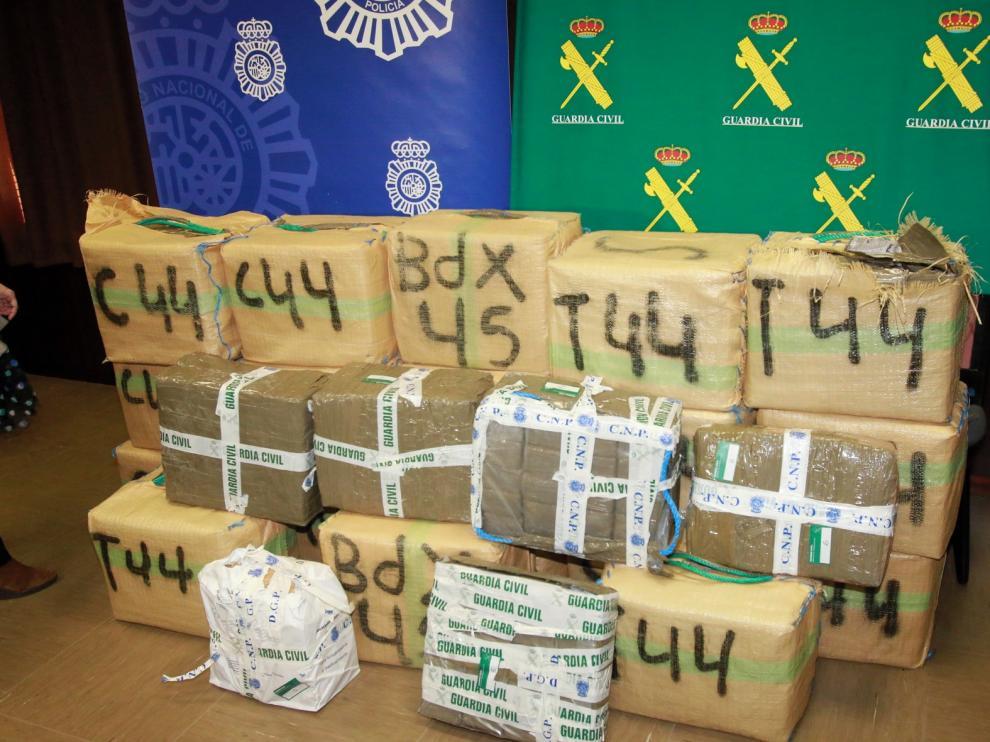 Piden diez años de cárcel para un grupo de narcos con bases en Jaca y Sabiñánigo