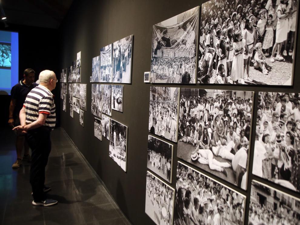 Huesca se llena de recuerdos laurentinos con las fotografías de Víctor Ibáñez