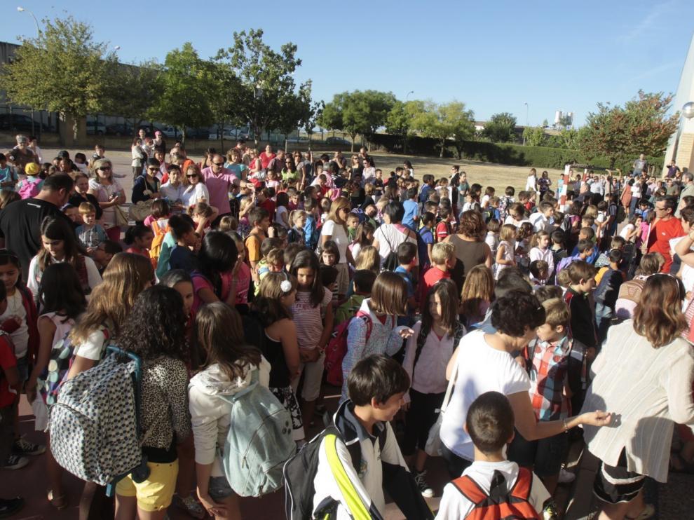Anpe Huesca pide que las comunidades no decidan si se pasa de curso