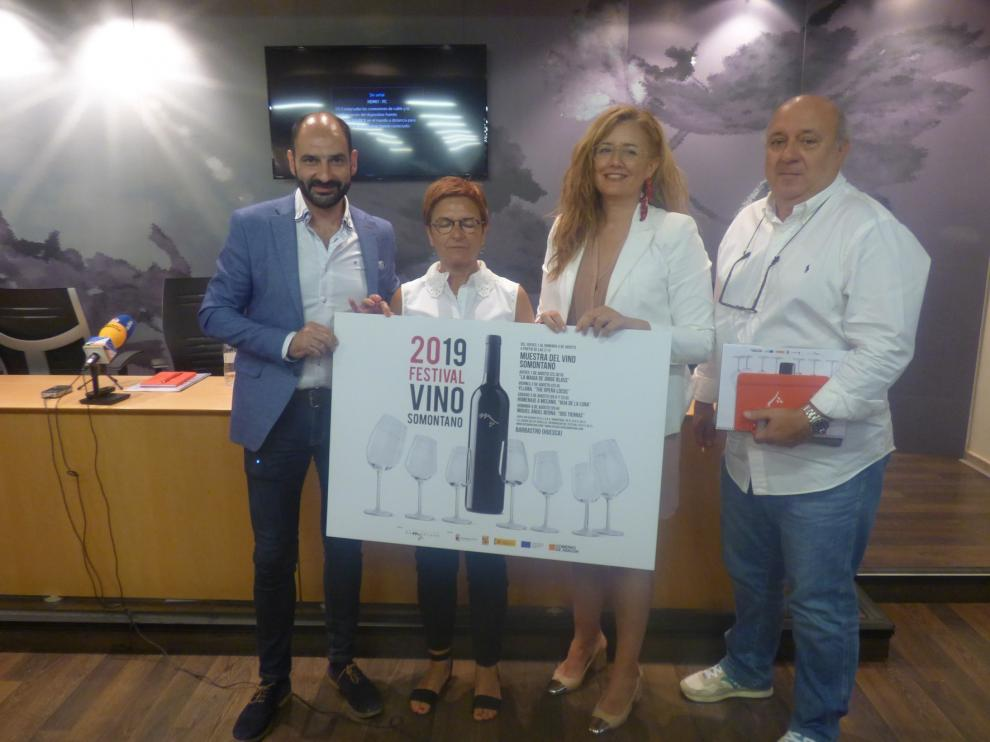 El Festival Vino Somontano celebra su veinte aniversario con una programación muy especial
