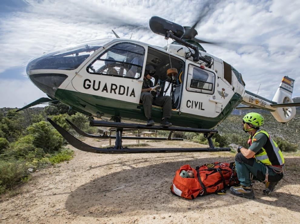 Dos senderistas, rescatadas al sufrir caídas en sendos accidentes