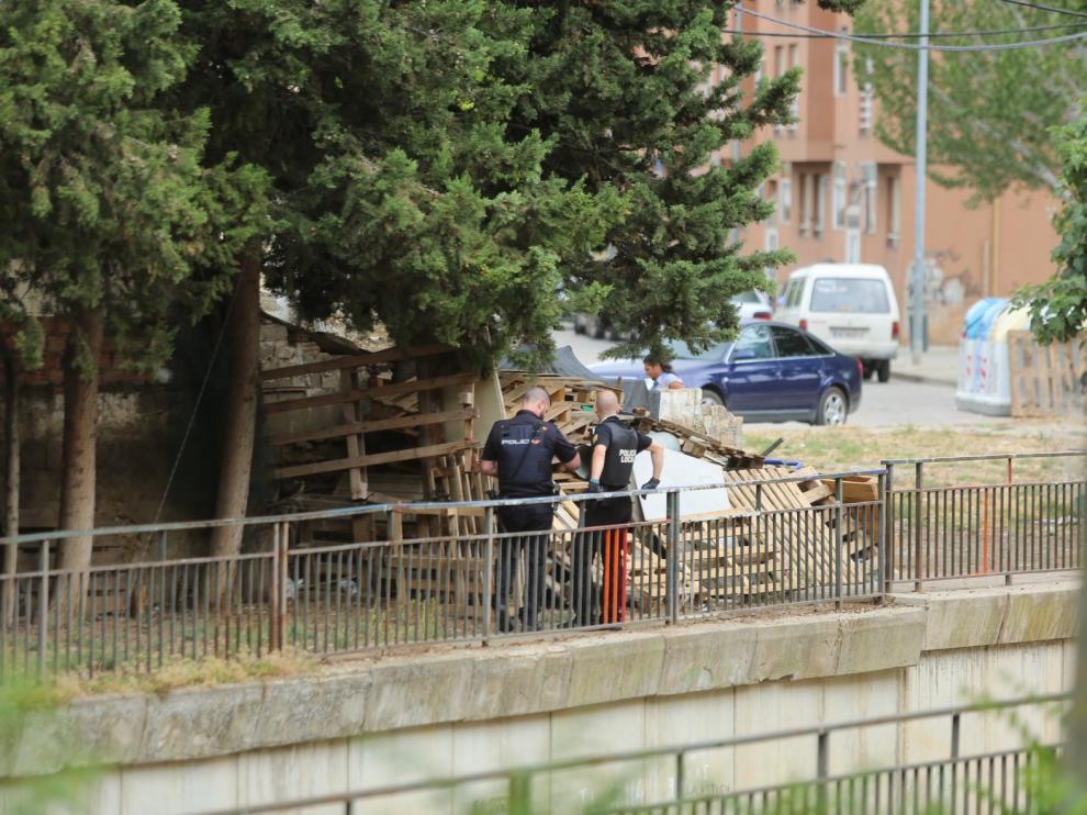 Despliegue policial en Huesca para localizar a un delincuente con causas pendientes