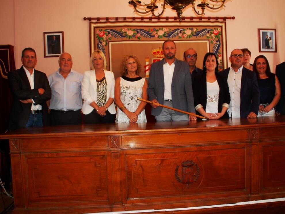 El Ayuntamiento de Sariñena aprueba la nueva estructura del consistorio en su primer pleno