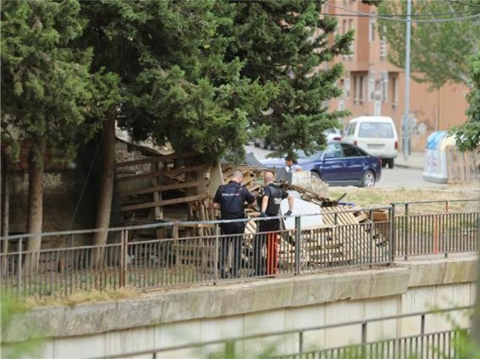 La Policía continúa buscando en Huesca al reclamado de Ronda del Isuela