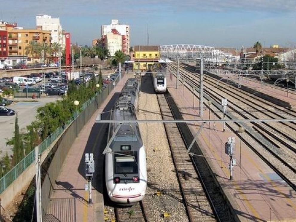 Afecciones en el tren directo a Valencia