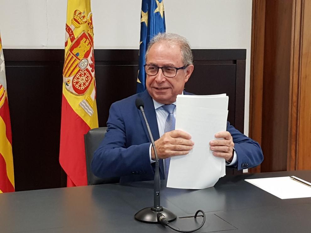 Aragón obtiene 46,3 millones del FLA para el tercer trimestre