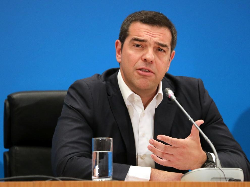 Tsipras propone refundar Syriza y hacerlo un partido de masas