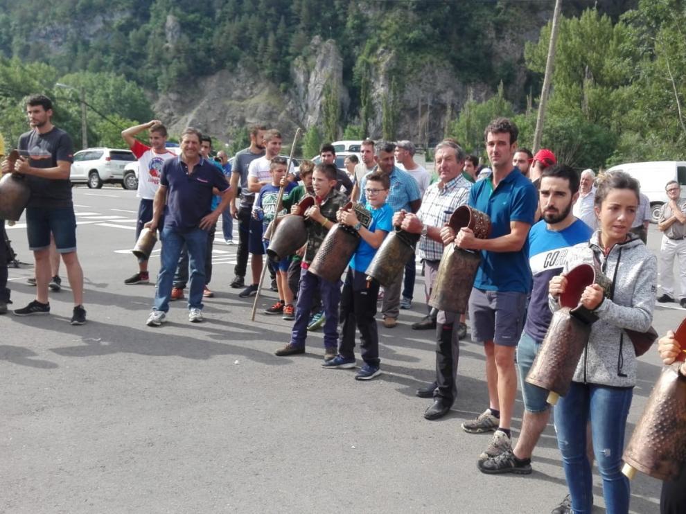 Manifestación a favor de la ganadería y contra el oso este jueves en Sobrarbe
