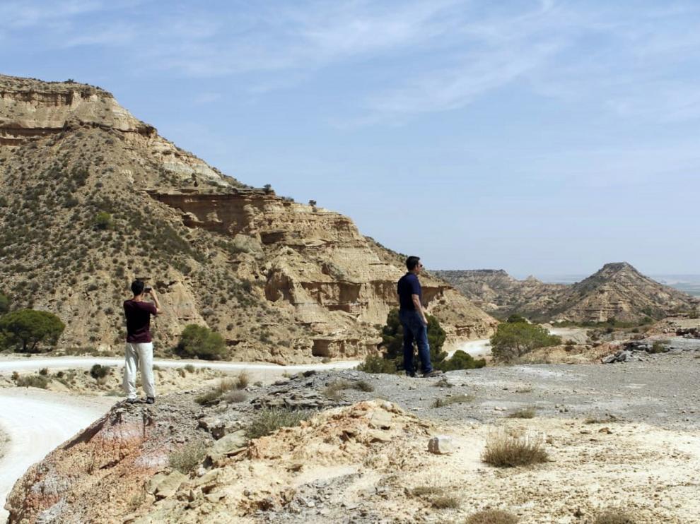 Jubierre, el espectáculo de un paisaje impactante próximo a Castejón de Monegros