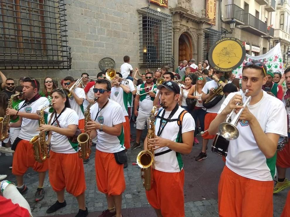 Os Mozés de Jaca, la mejor charanga de España