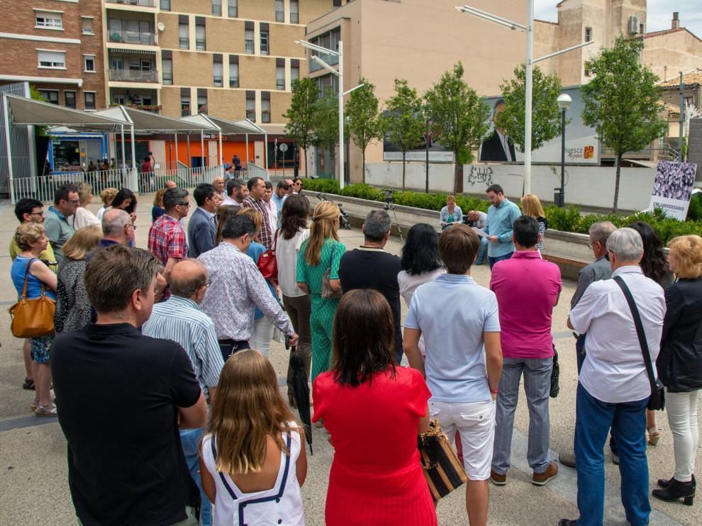 El acto de homenaje a Miguel Ángel Blanco se hace extensivo a todas las víctimas de la banda