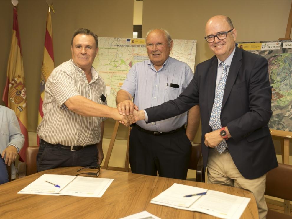Seiasa y la Comunidad de Orillena invertirán en la modernización de su superficie regable 21,5 millones