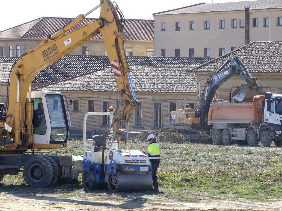 La reapertura del cuartel, asunto capital para el próximo año para el gobierno local de Huesca