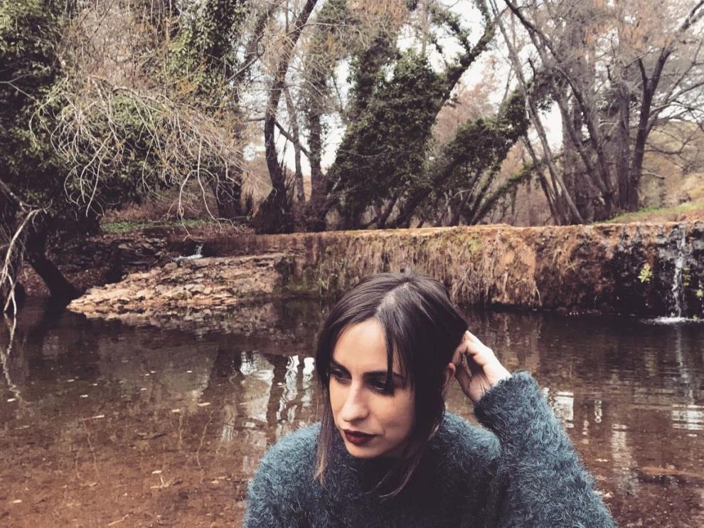La escritora María Sánchez, protagonista de la romería literaria de Ascaso