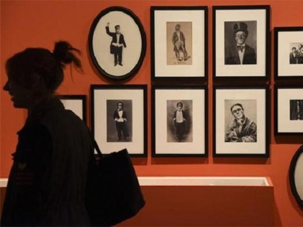 La exposición itinerante sobre el payaso Marcelino se inaugura en Secastilla