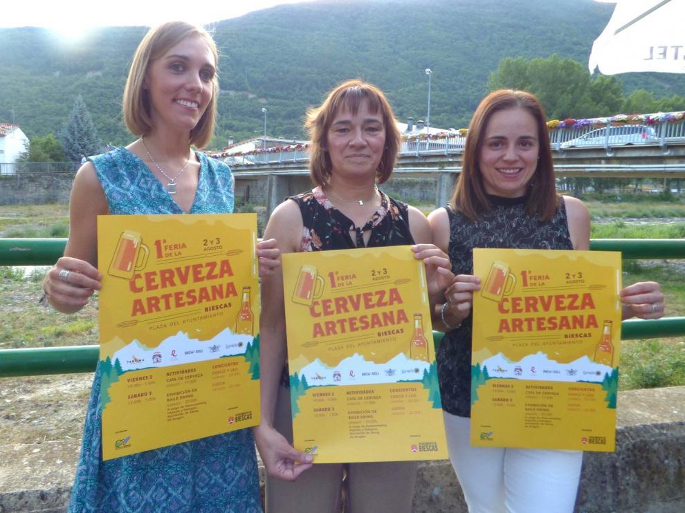 Biescas celebrará en agosto su primera Feria de la Cerveza Artesana