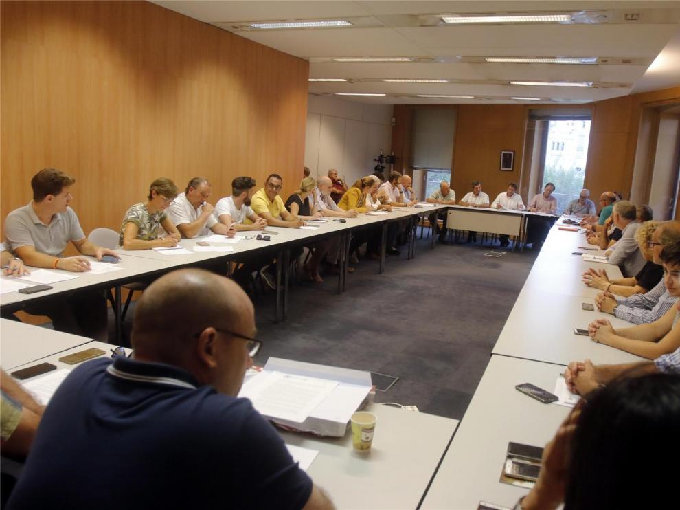 PSOE y Ciudadanos llegan a un acuerdo para la gestión de la Hoya de Huesca