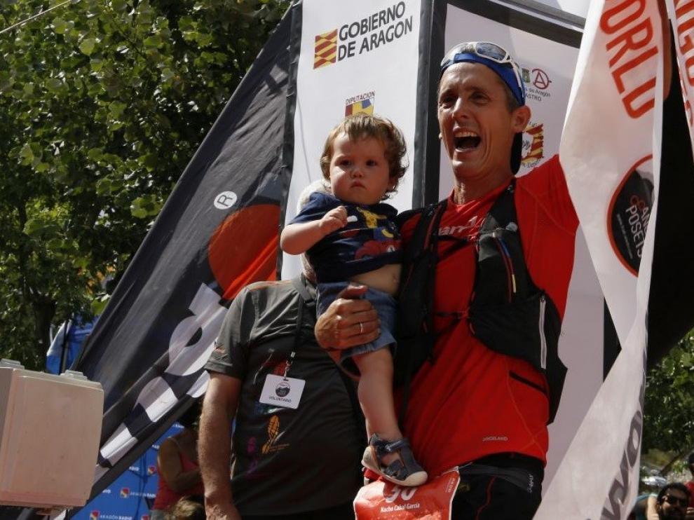 Nacho Cabal y Natalia Román triunfan en el Gran Trail Aneto-Posets