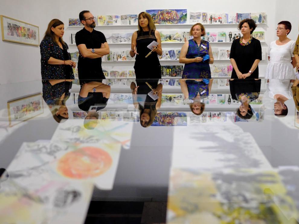 """Una exposición """"resume las emociones"""" del Pirineos Sur"""