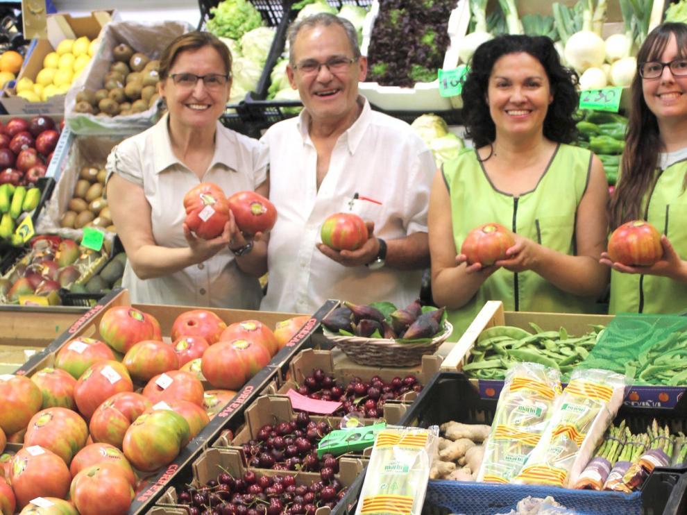 La Fiesta del Tomate Rosa de Huesca, paladear la confianza