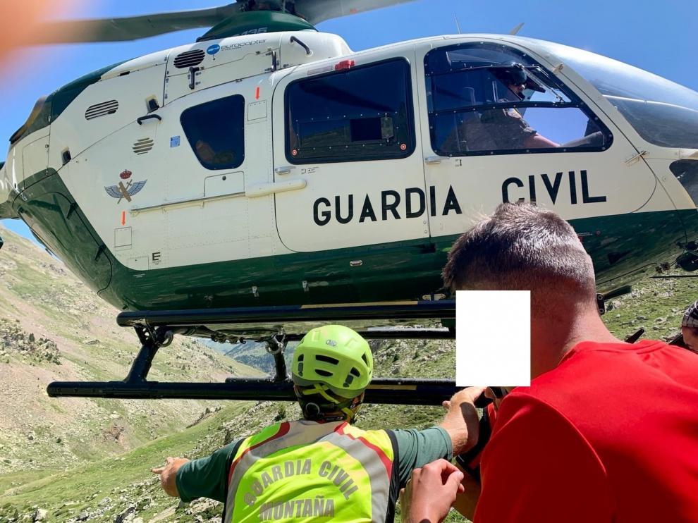 """Junio trajo un """"repunte"""" de rescates de senderistas con respecto al año pasado"""