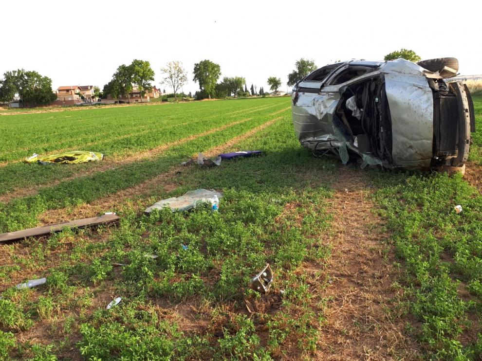 Muere un vecino de Gurrea de 45 años en un accidente de tráfico en Ontinar del Salz