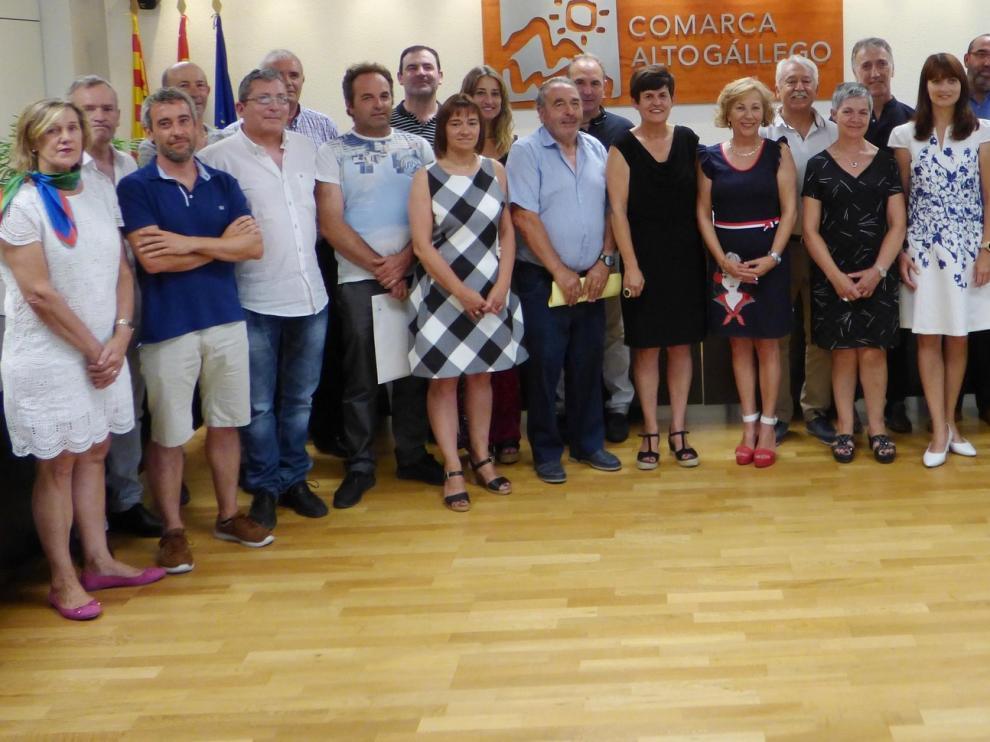 Lourdes Arruebo (PSOE) repite como presidenta de la Comarca del Alto Gállego