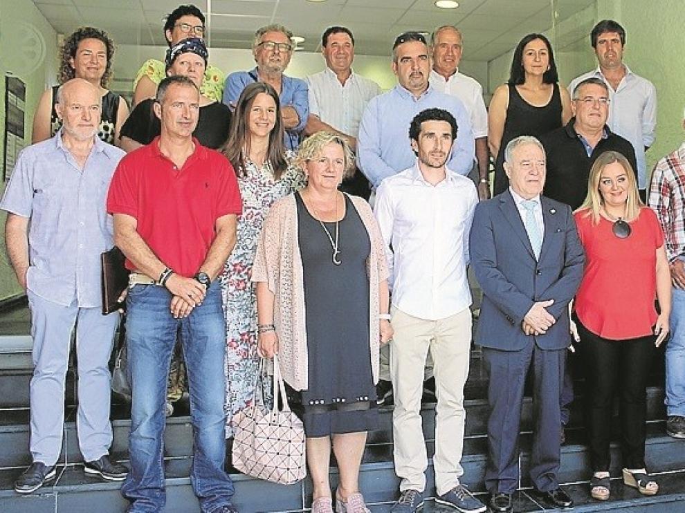 Respaldo casi unánime para José Manuel Bielsa como presidente de la Comarca de Sobrarbe