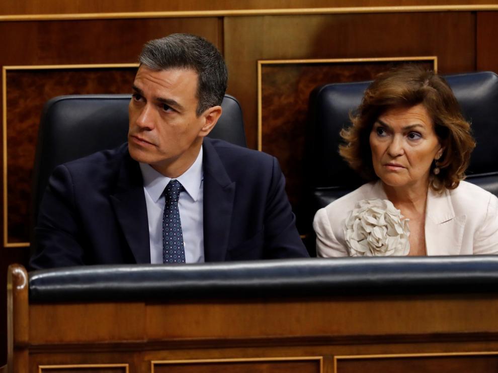 Sánchez no sale investido en la primera votación