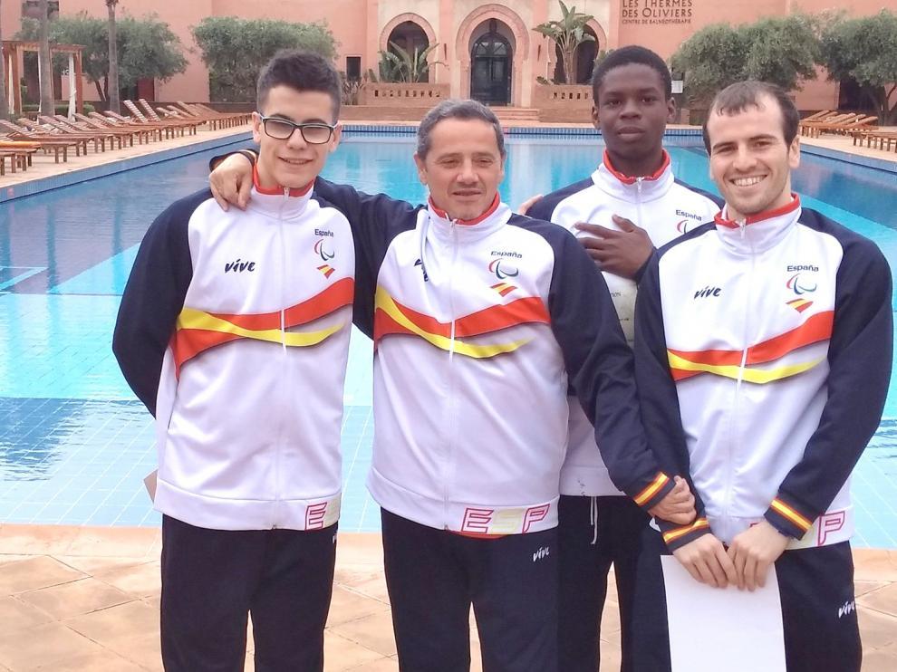 Dos zoitistas en el Mundial Junior Adaptado que se disputa en Nottwi