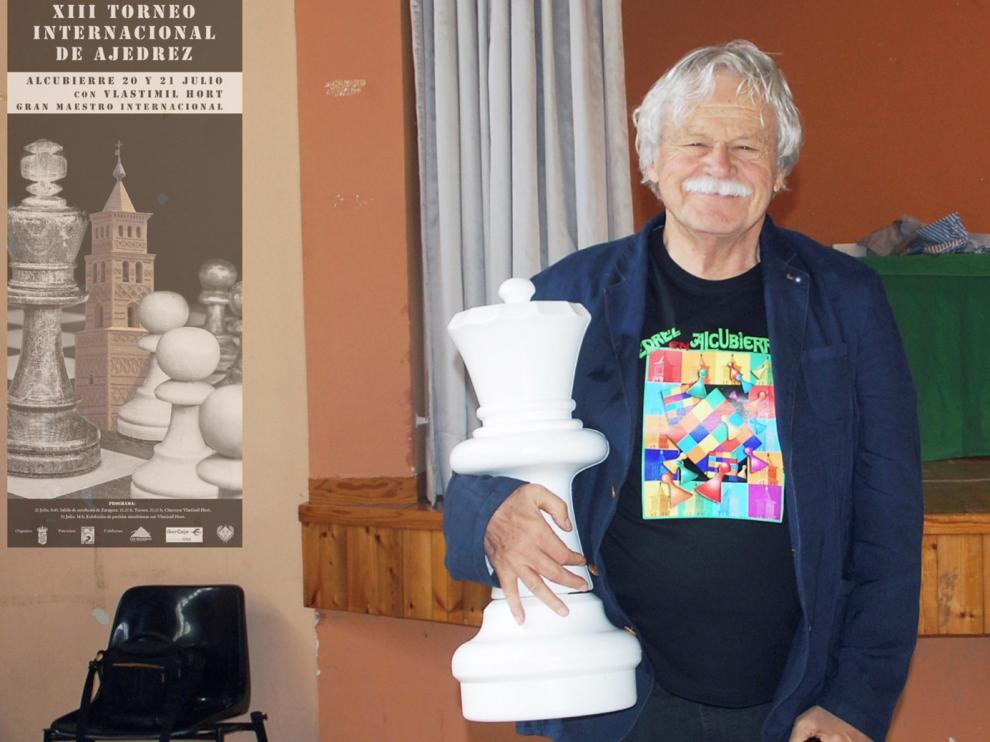 """Vlastimil Hort: """"Envejecer con el ajedrez es mucho más agradable y saludable"""""""