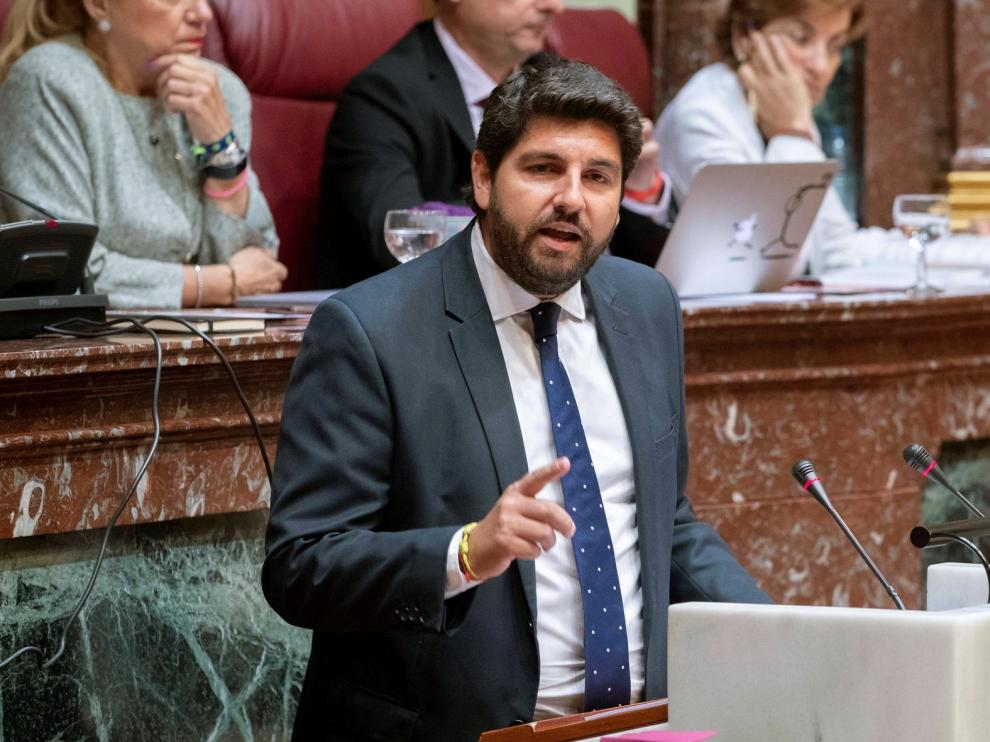 López Miras defiende los acuerdos alcanzados con Vox en Murcia