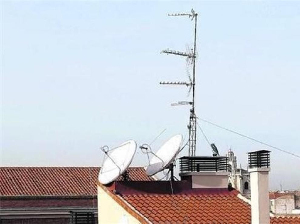 El cambio de frecuencias de TDT afecta en su inicio a 176 municipios de Huesca