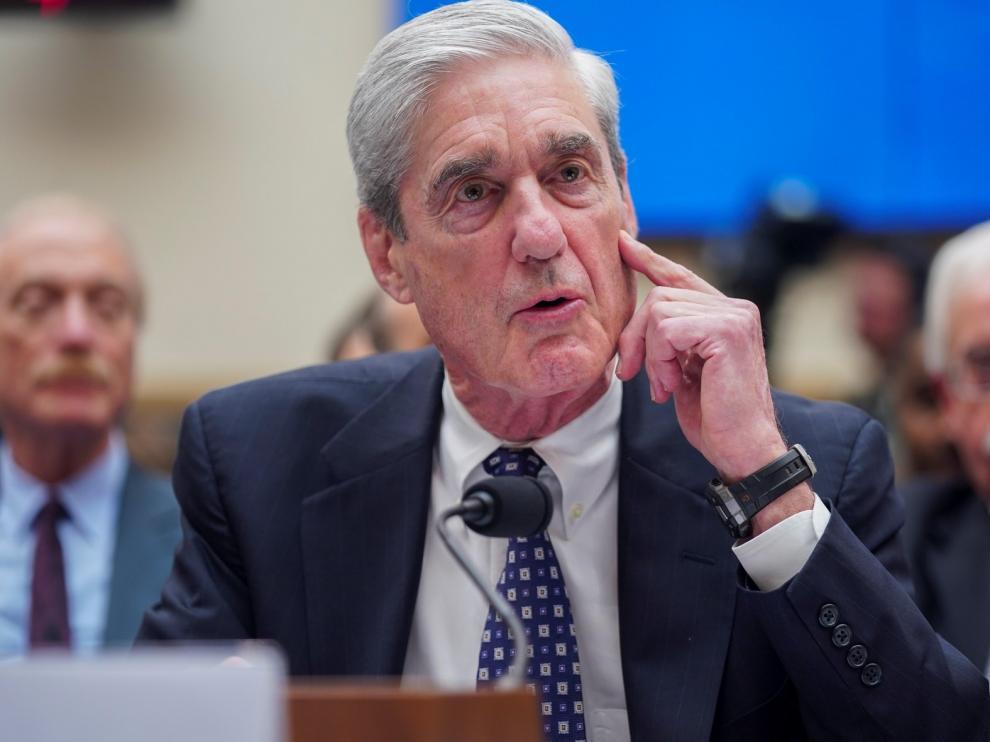 "Robert Mueller reitera que ""no exoneró"" a Donald Trump"