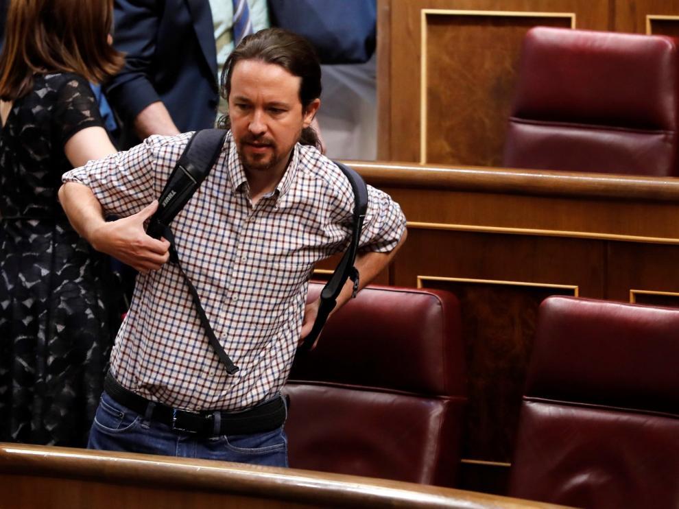 """Iglesias pide """"in extremis"""" dirigir las políticas activas de empleo y Sánchez, que no va a ser investido, le dice que no"""