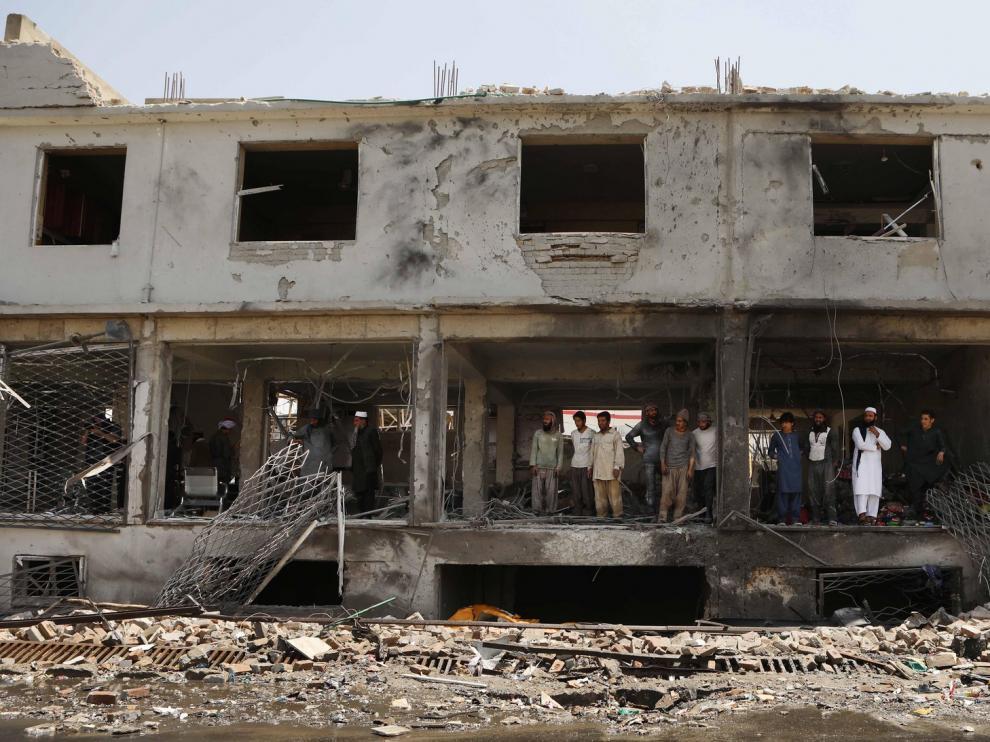 Nueve muertos al explotar una mina cuando se dirigían a una boda en Afganistán