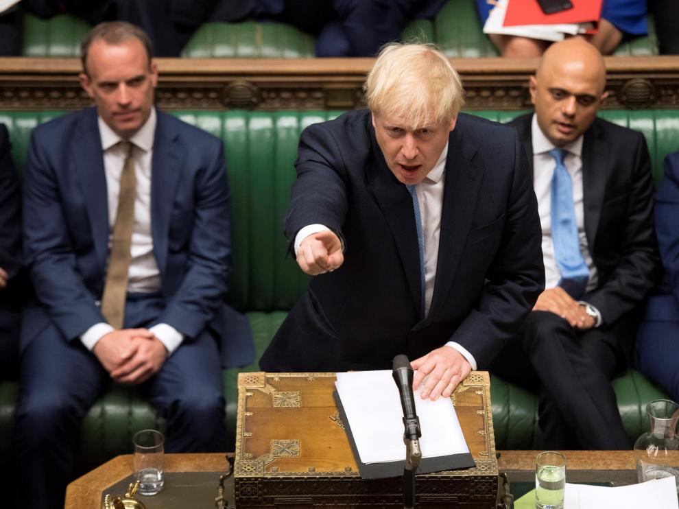 "Boris Johnson se mantiene firme ante un posible ""brexit"" duro"