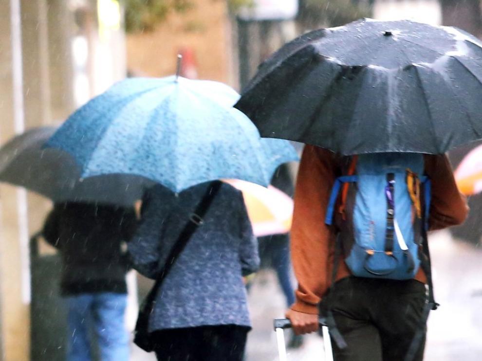 Aviso amarillo por lluvias y tormentas en varios puntos de la comunidad aragonesa