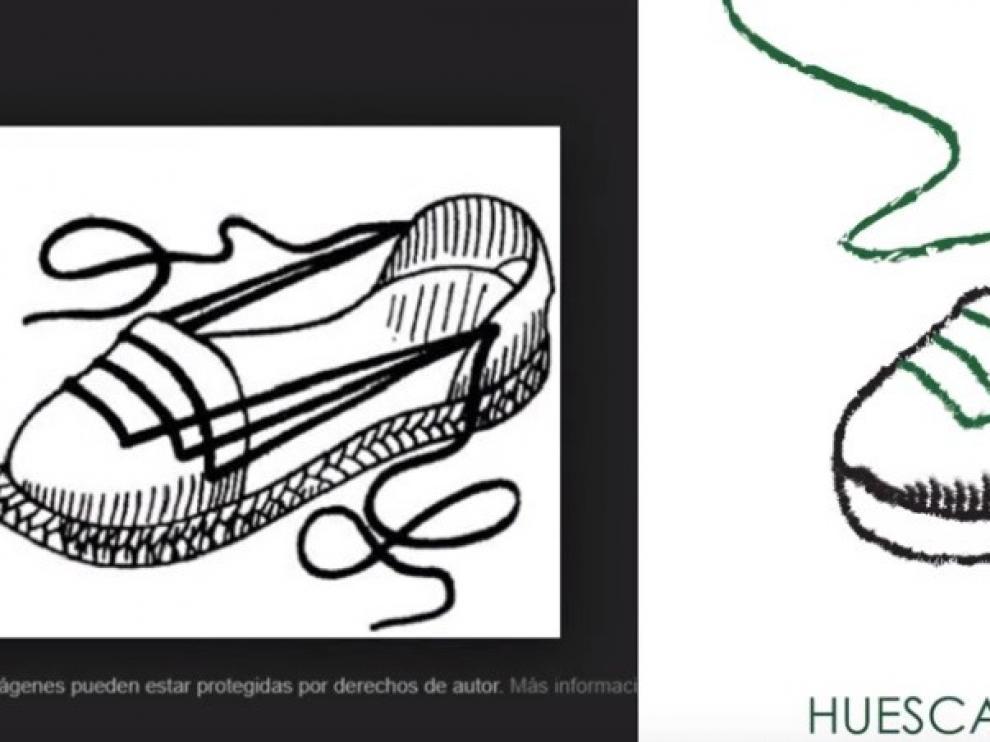 Un 'youtuber' denuncia el supuesto plagio del cartel de San Lorenzo 2019