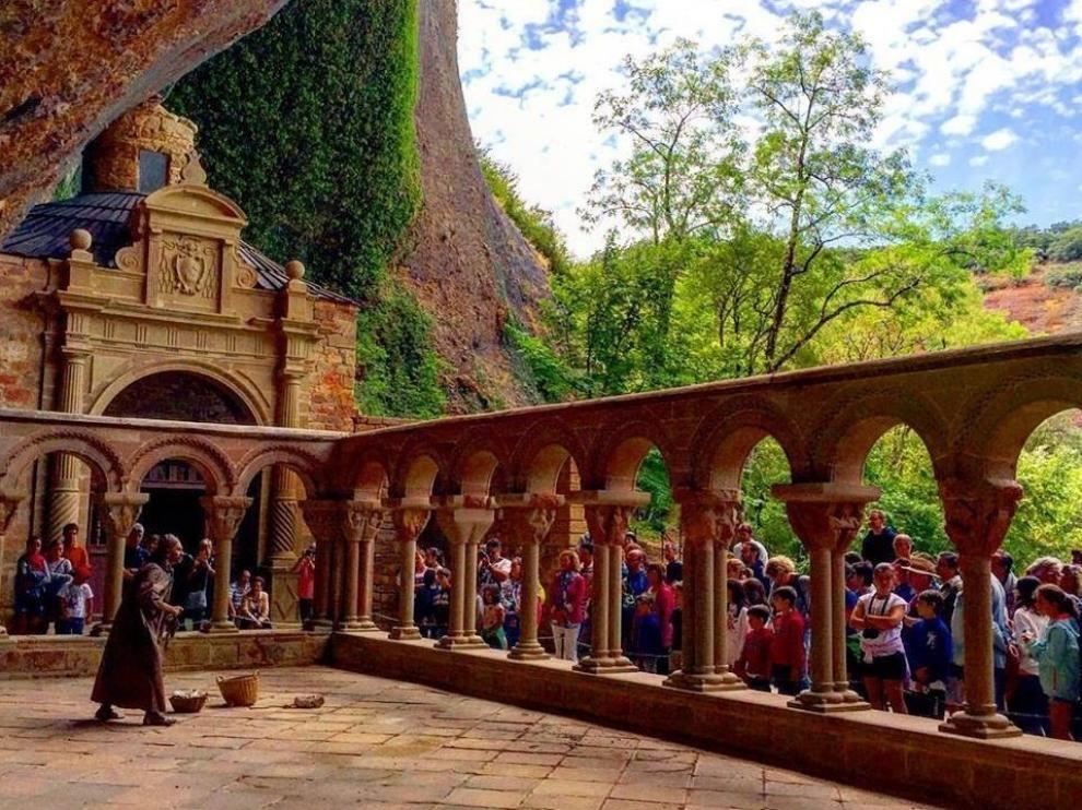 San Juan de la Peña retoma sus exitosas visitas teatralizadas