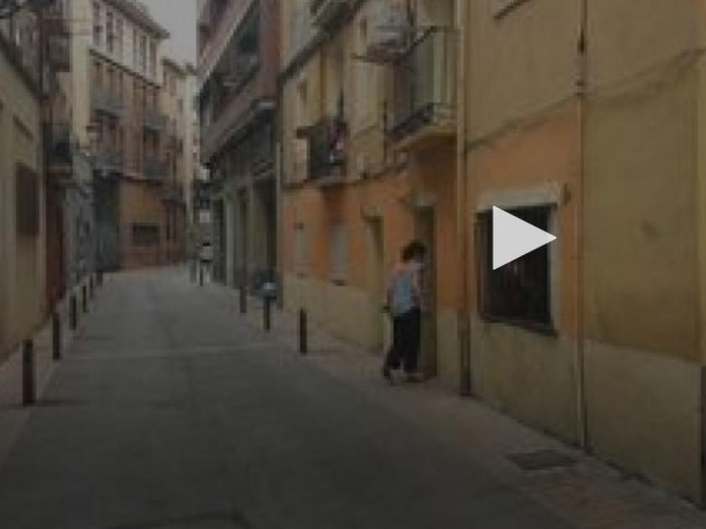 Un niño de 9 años resulta herido al derrumbarse un falso techo en Zaragoza
