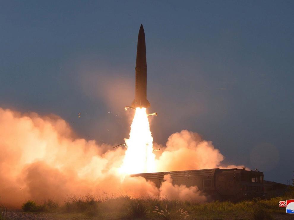 Corea del Norte prueba una nueva arma táctica