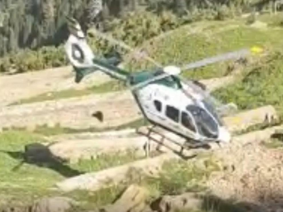 La Guardia Civil de montaña realiza cinco rescates en seis horas este sábado