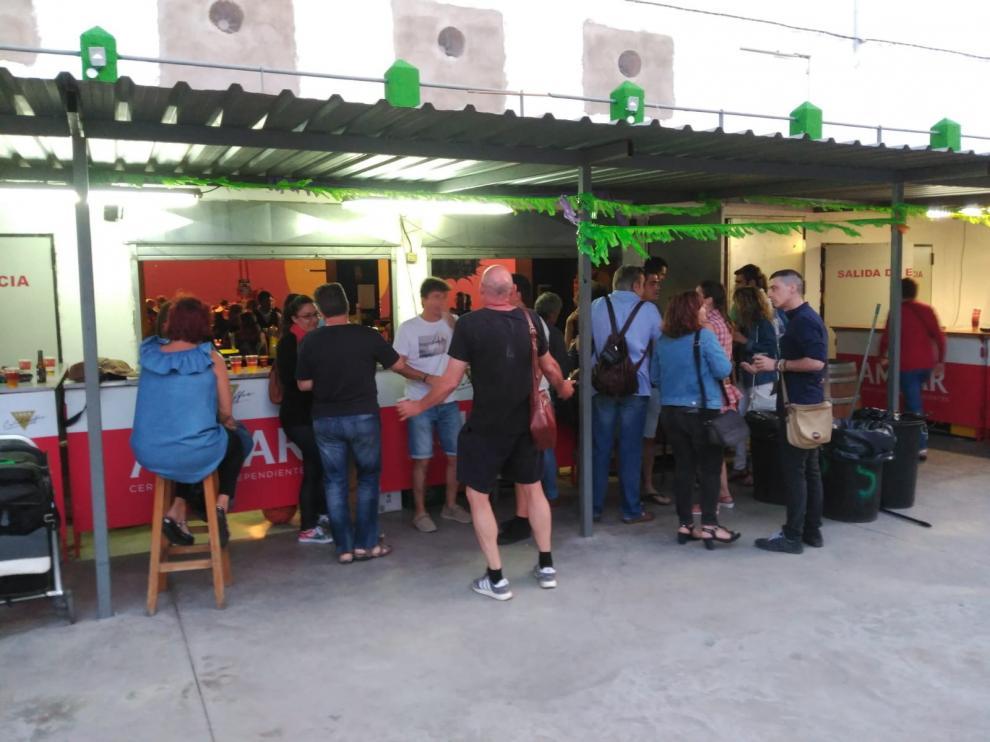 Animadas cenas del socio de la Laurentina y Zoiti, a dos semanas de las fiestas de Huesca